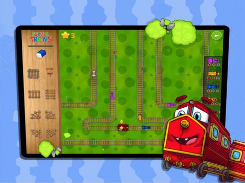 Puzzle Trains & Rails