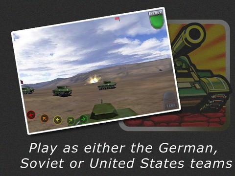 World War - Tank Battle 3D