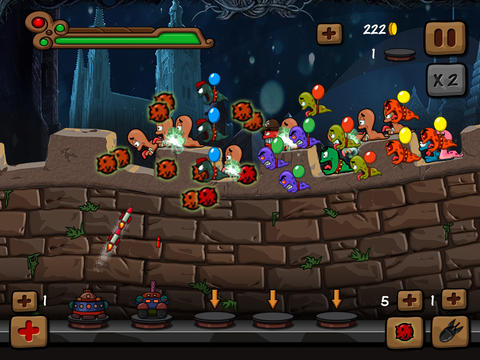 Worms Castle Defence
