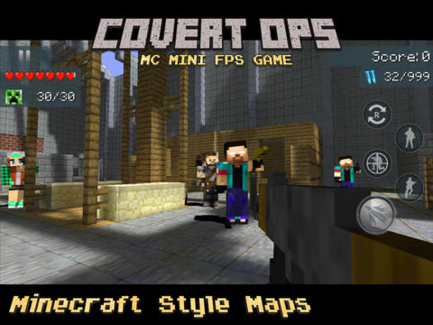 Covert Ops - Multiplayer MC Mini FPS Game