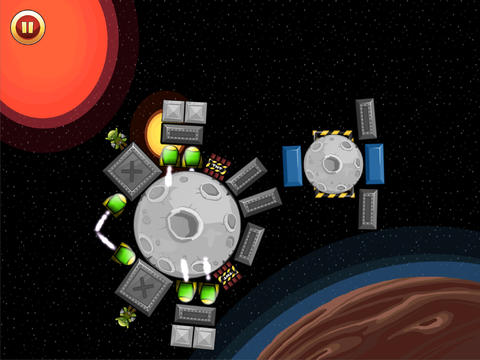 Angry Monsters Space Drop HD