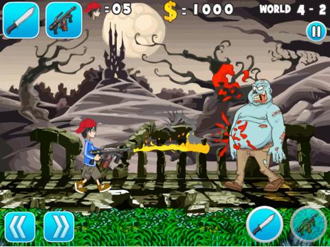 Crusher The Zombie Hunter HD