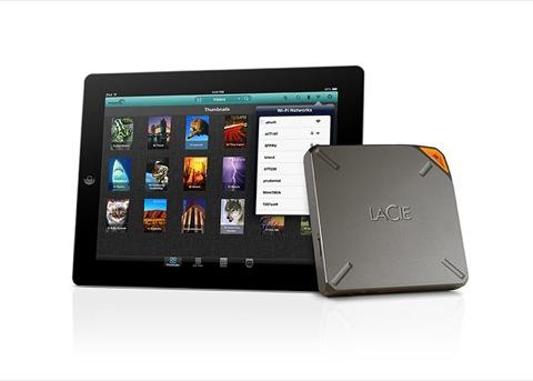 LaCie presenta un disco externo de 1 TB para dispositivos iOS [CES'14]