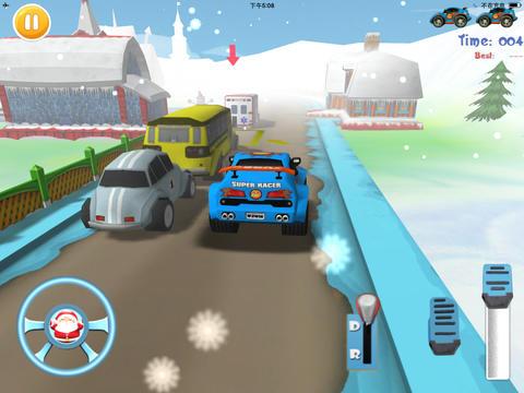 Parking Snow World 3D
