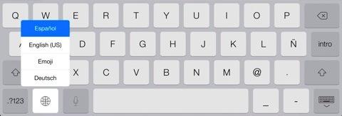 Varios teclados