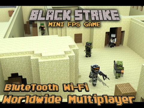 Black Strike - Multiplayer Mini FPS Game