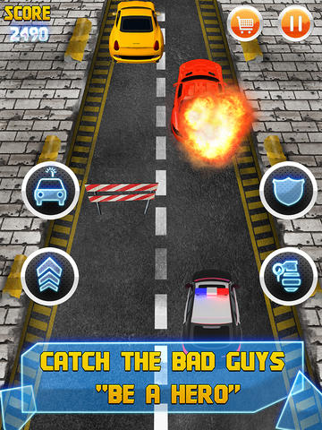 Armored Cop Car VS Extreme Robbers HD PRO