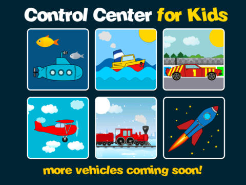 Control Center for Kids