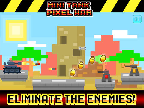 Mini Tanks Charge! - Pro Pixel Army Action Game