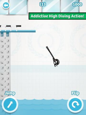 Stickman High Diving PRO