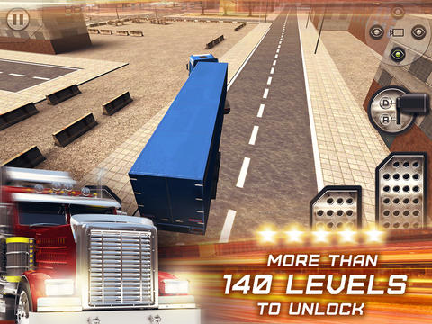 Trucker 3D Real Parking Simulator Game HD