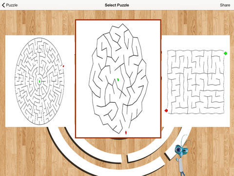 Mazes Puzzles