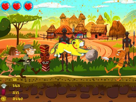 Raaka! Run to the Jungle