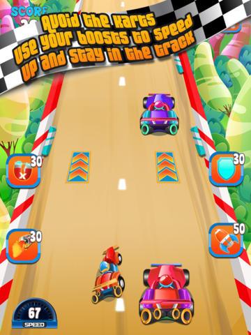 Speedy Kart Racing Madness