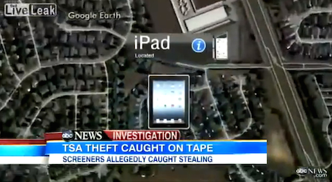 TSA robo iPad 1