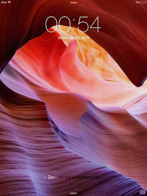 Wallpaper Antelope Canyon Pantalla bloqueo