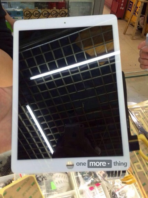 iPad Air 2 Frontal Blanco