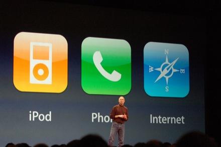 keynote iPhone steve jobs