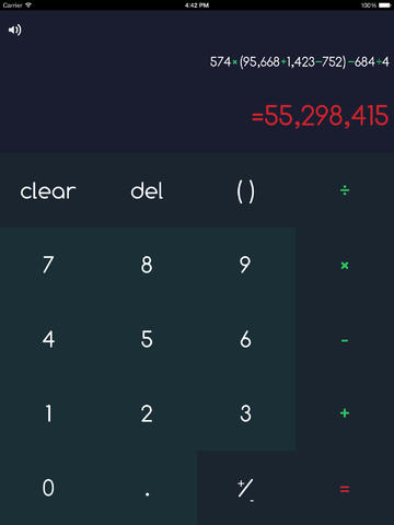 Calculator∘