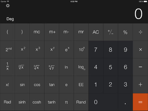 Calculator - iPad