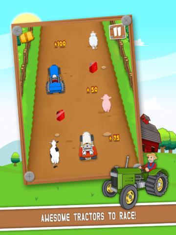 Farmland Tractor Racing