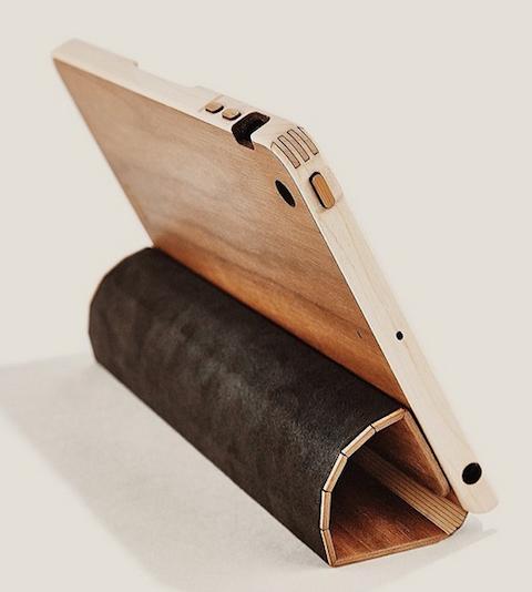 Funda madera iPad 2 Grovemade