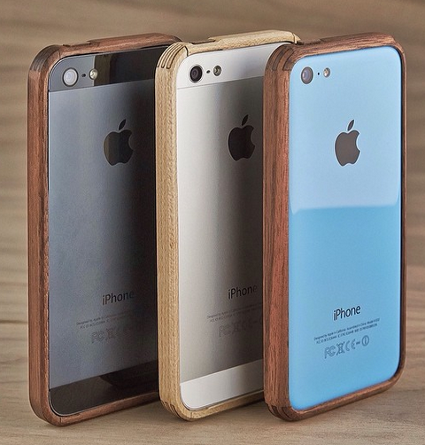 Funda madera iPhone Grovemade