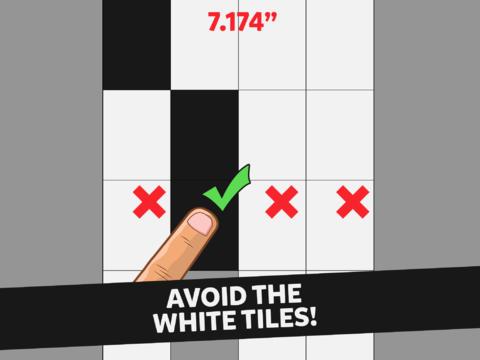 No Toque el Mosaico Blanco Juego de Reflejos