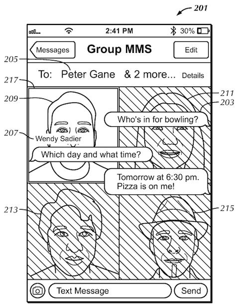 PAtente Interfaz Usuario imagen contactos 2