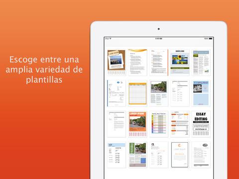 Plantillas para Pages Pro