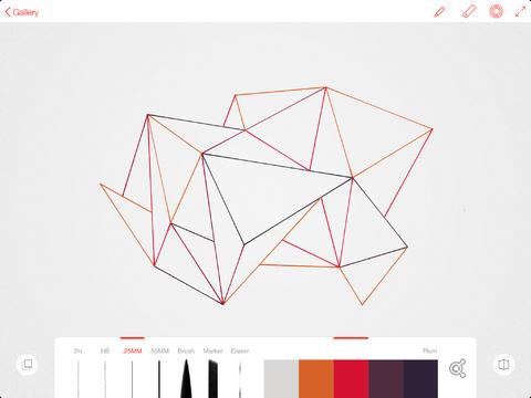 Adobe Line - Real Tools for Drawing