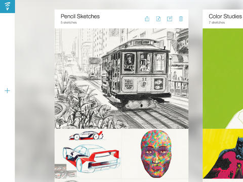 Adobe Sketch – inspiration, drawing & feedback