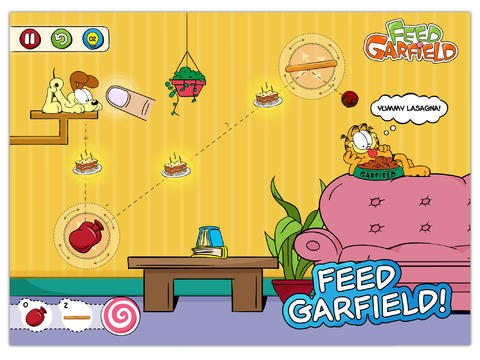 Alimenta a Garfield HD