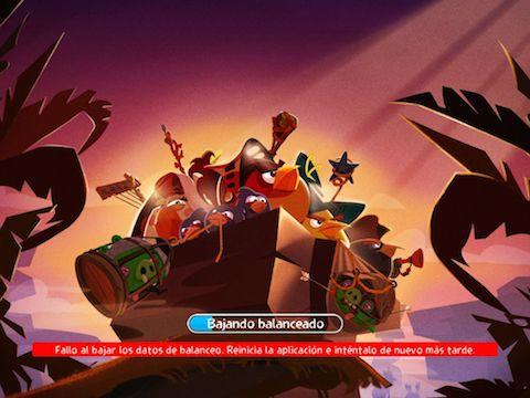 Angry Birds Epic fallo