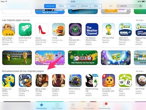 App_Store_actualizaciones_juegos