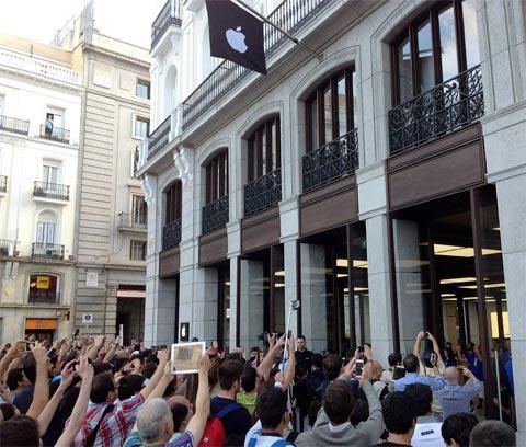 Apple Store Sol apertura