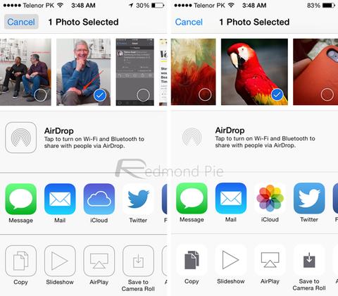 Compartir iOS 8 vs iOS 7_result