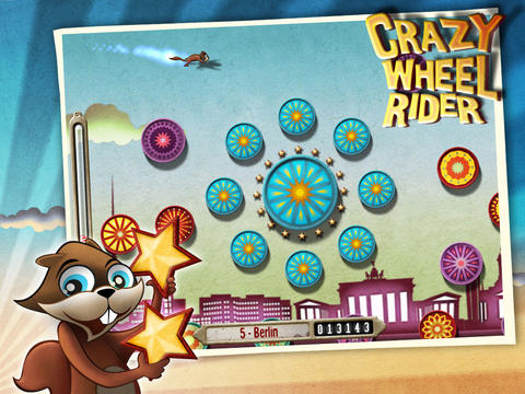 Crazy Wheel Rider HD