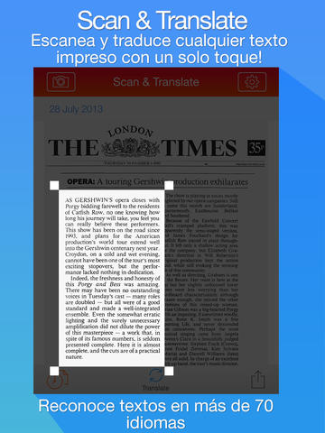 Escanea y Traducе- Capturador de texto y traductor