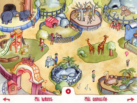 Libro interactivo infantil- Mis animales (en el zoo)