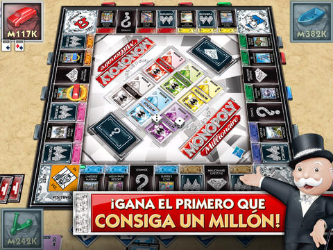MONOPOLY Millionario para iPad