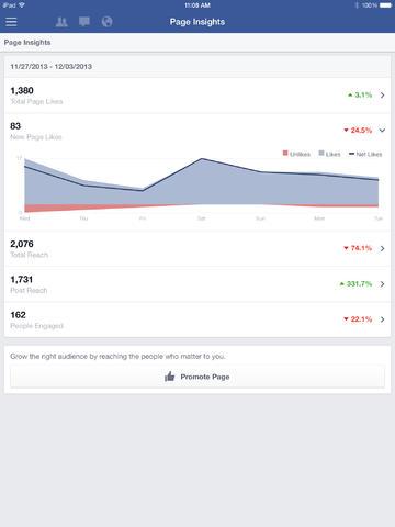 Páginas Facebook FB