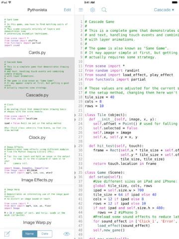 Pythonista 1