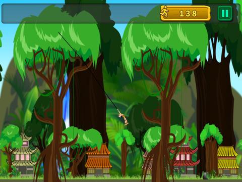 The Tarzan Jungle Swing Pro