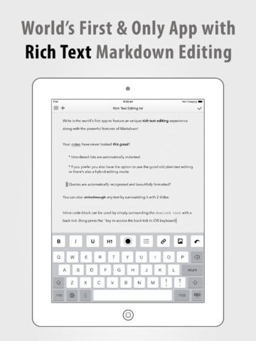 Write for iPad