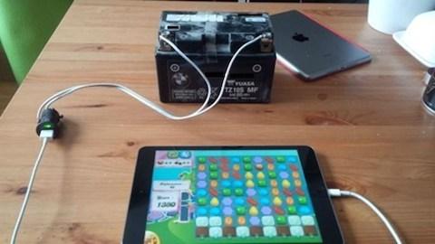 iPad absurdo 5 batería