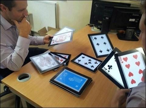 iPad absurdo 8 cartas