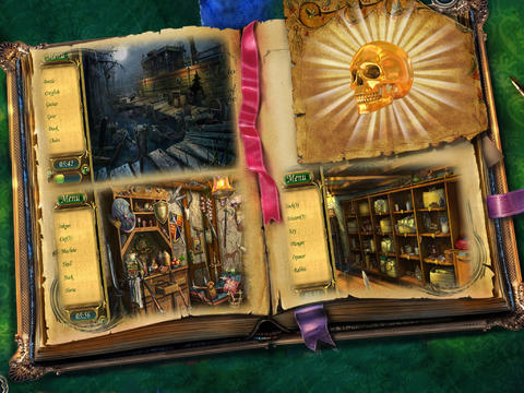 Hidden Object- Golden Skull Adventures