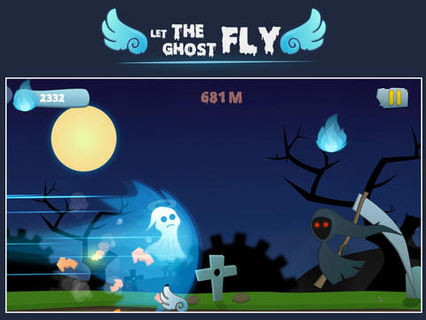 Let the ghost fly