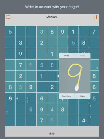 Sudoku Scribble